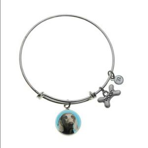 B. Berish Weimaraner Silver Bangle Bracelet